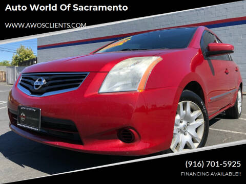 2011 Nissan Sentra for sale at Auto World of Sacramento Stockton Blvd in Sacramento CA
