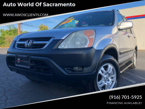 2003 Honda CR-V for sale at Auto World of Sacramento Stockton Blvd in Sacramento CA