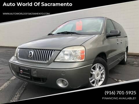 2004 Mercury Monterey for sale at Auto World of Sacramento Stockton Blvd in Sacramento CA