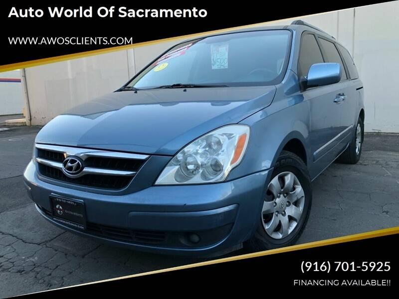 2008 Hyundai Entourage for sale at Auto World of Sacramento Stockton Blvd in Sacramento CA
