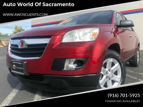 2008 Saturn Outlook for sale at Auto World of Sacramento Stockton Blvd in Sacramento CA