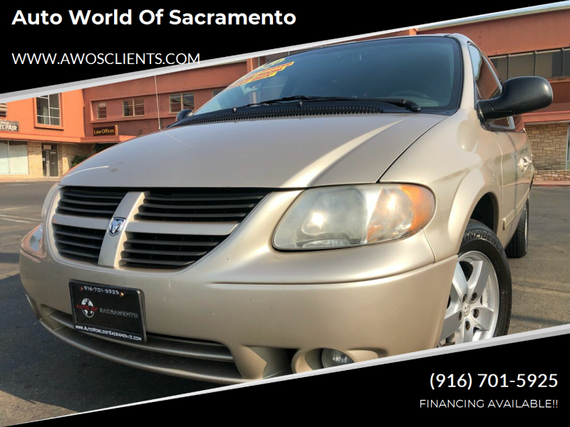 2007 Dodge Grand Caravan for sale at Auto World of Sacramento Stockton Blvd in Sacramento CA