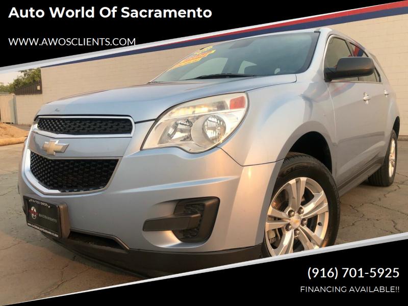 2014 Chevrolet Equinox for sale at Auto World of Sacramento Stockton Blvd in Sacramento CA