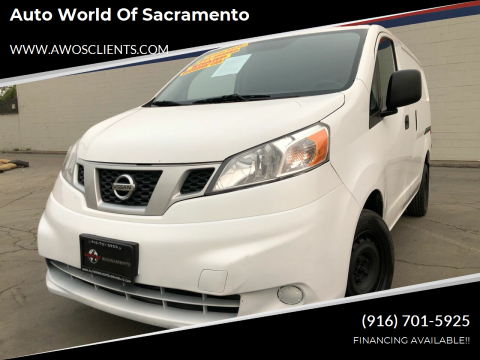 2015 Nissan NV200 for sale at Auto World of Sacramento Stockton Blvd in Sacramento CA