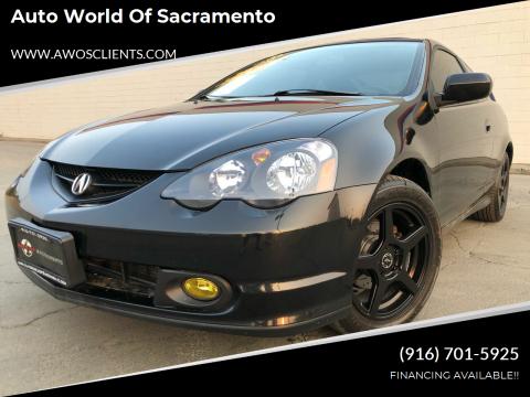 2003 Acura RSX for sale at Auto World of Sacramento Stockton Blvd in Sacramento CA