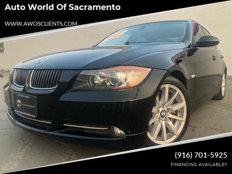 2008 BMW 3 Series for sale at Auto World of Sacramento Stockton Blvd in Sacramento CA