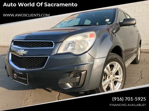 2010 Chevrolet Equinox for sale at Auto World of Sacramento Stockton Blvd in Sacramento CA