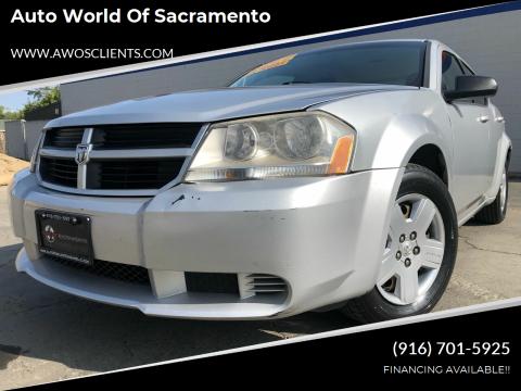 2010 Dodge Avenger for sale at Auto World of Sacramento Stockton Blvd in Sacramento CA