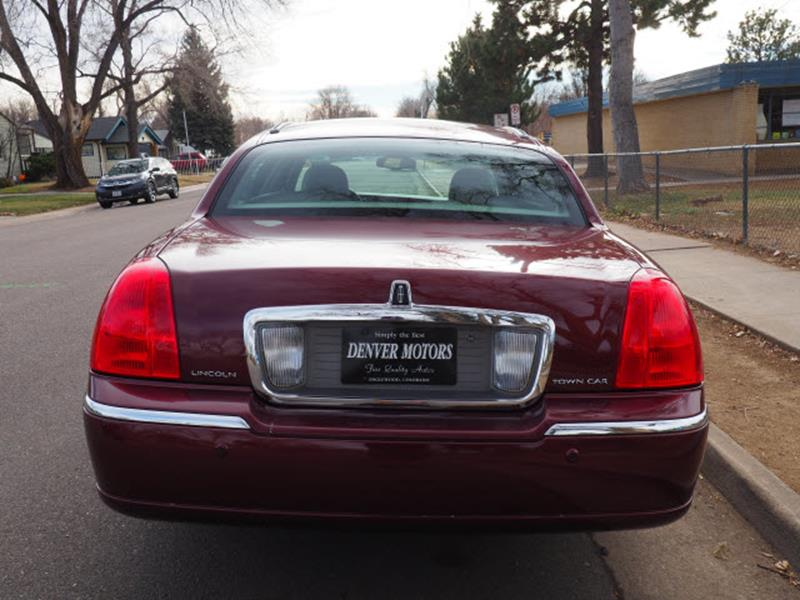 2004 Lincoln Town Car Signature 4dr Sedan In Englewood Co Denver