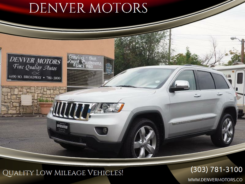 2012 Jeep Grand Cherokee 4x4 Limited 4dr SUV   Englewood CO
