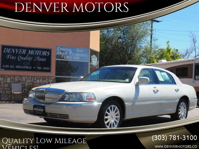 2006 Lincoln Town Car Signature 4dr Sedan In Englewood Co Denver