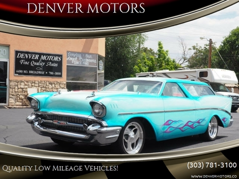 1957 Chevrolet Nomad for sale in Englewood, CO