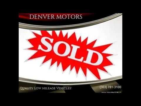 2011 Lincoln MKZ for sale at DENVER MOTORS in Englewood CO