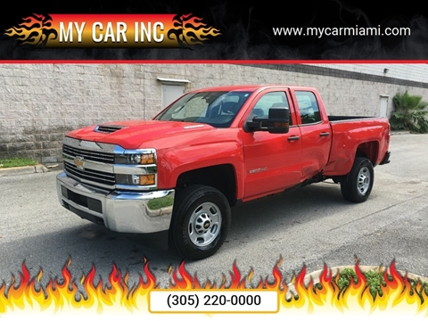 2018 Chevrolet Silverado 2500HD for sale at My Car Inc in Pls. Call 305-220-0000 FL