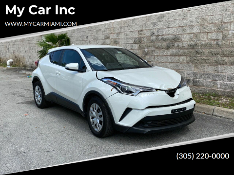 2019 Toyota C-HR for sale at My Car Inc in Pls. Call 305-220-0000 FL