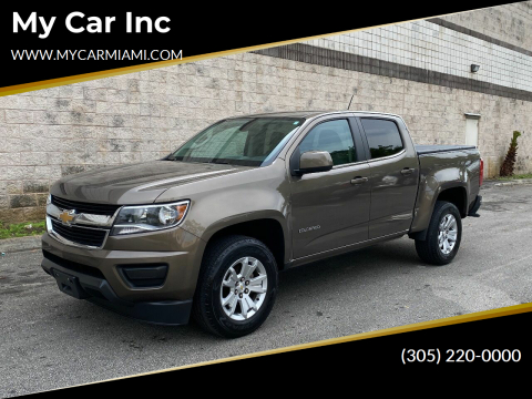 2016 Chevrolet Colorado LT for sale at My Car Inc in Pls. Call 305-220-0000 FL