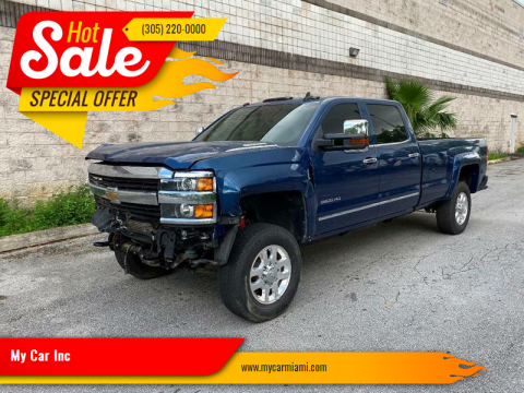 2015 Chevrolet Silverado 3500HD LTZ for sale at My Car Inc in Pls. Call 305-220-0000 FL
