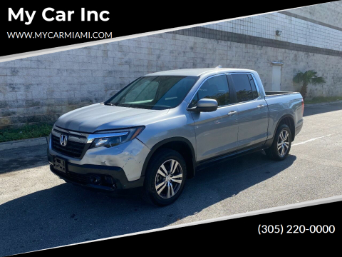 2017 Honda Ridgeline RTS for sale at My Car Inc in Pls. Call 305-220-0000 FL