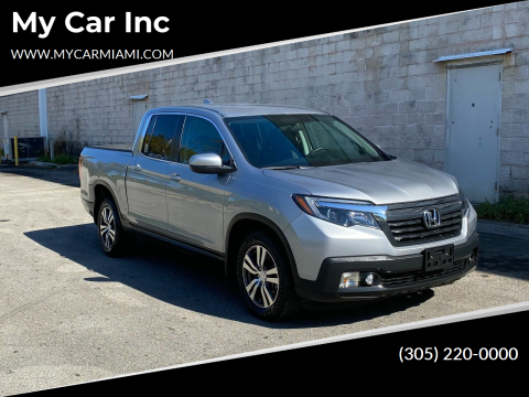 2017 Honda Ridgeline for sale at My Car Inc in Pls. Call 305-220-0000 FL