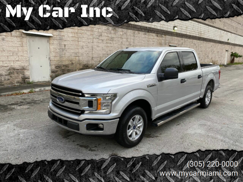 2018 Ford F-150 XLT for sale at My Car Inc in Pls. Call 305-220-0000 FL