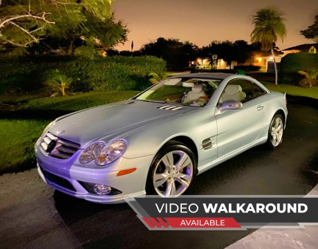 2007 Mercedes-Benz SL-Class for sale at My Car Inc in Pls. Call 305-220-0000 FL