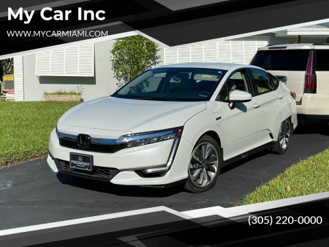 2018 Honda Clarity Plug-In Hybrid Touring for sale at My Car Inc in Pls. Call 305-220-0000 FL