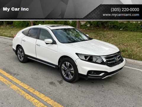 2013 Honda Crosstour EX-L V6 w/Navi for sale at My Car Inc in Pls. Call 305-220-0000 FL