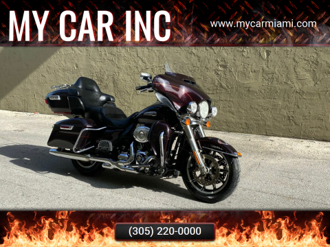 2014 Harley-Davidson FLHTCU ULTRA CLASSIC ELECTRA G for sale at My Car Inc in Pls. Call 305-220-0000 FL