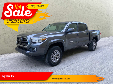 2018 Toyota Tacoma SR5 V6 for sale at My Car Inc in Pls. Call 305-220-0000 FL
