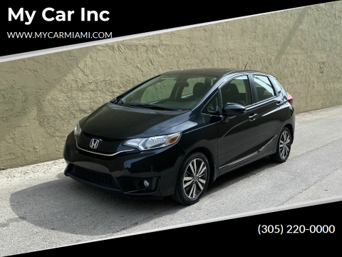 2015 Honda Fit for sale at My Car Inc in Pls. Call 305-220-0000 FL