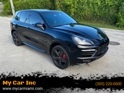 2014 Porsche Cayenne for sale at My Car Inc in Pls. Call 305-220-0000 FL