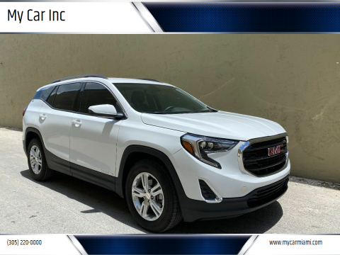 2018 GMC Terrain for sale at My Car Inc in Pls. Call 305-220-0000 FL