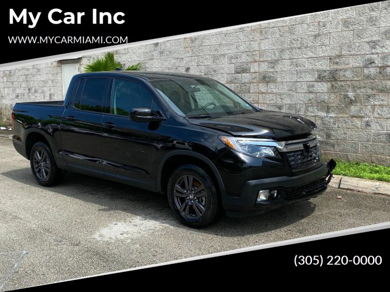 2019 Honda Ridgeline for sale at My Car Inc in Pls. Call 305-220-0000 FL