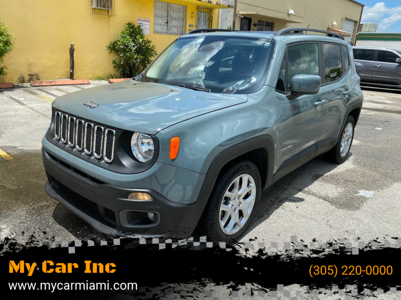 2017 Jeep Renegade for sale at My Car Inc in Pls. Call 305-220-0000 FL