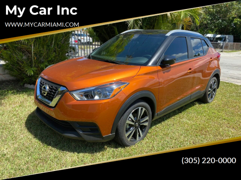 2018 Nissan Kicks for sale at My Car Inc in Pls. Call 305-220-0000 FL