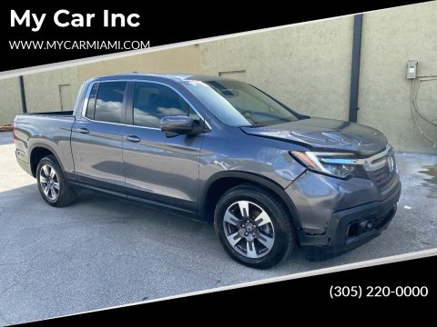 2018 Honda Ridgeline for sale at My Car Inc in Pls. Call 305-220-0000 FL