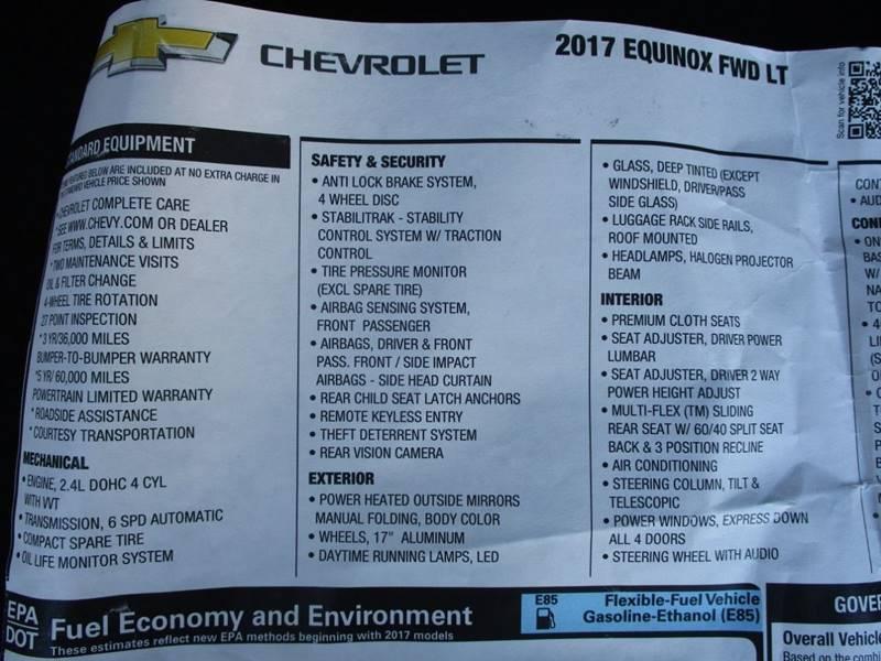 2017 Chevrolet Equinox LT 4dr SUV w/1LT In Raytown MO