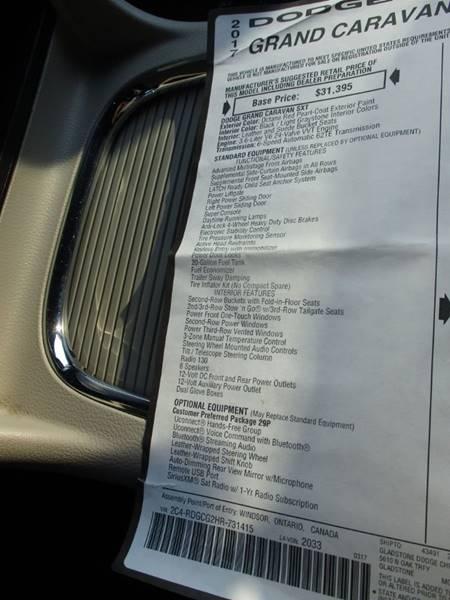 2017 Dodge Grand Caravan SXT 4dr Mini-Van In Raytown MO
