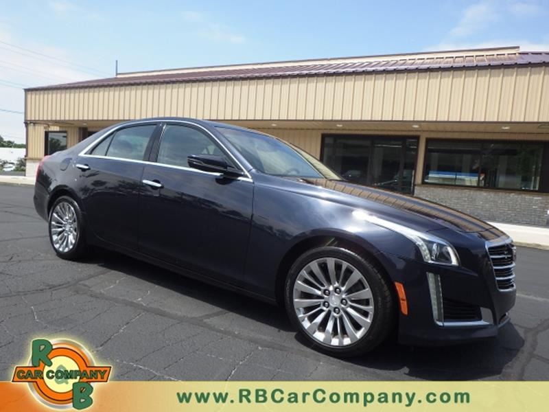 2015 cadillac cts awd 2 0t luxury collection 4dr sedan in south bend in r b car co. Black Bedroom Furniture Sets. Home Design Ideas