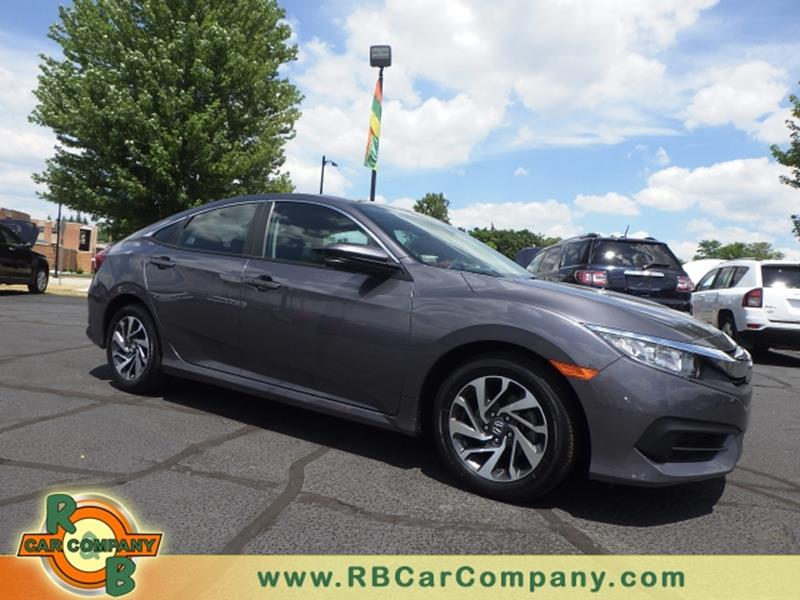 2016 Honda Civic EX 4dr Sedan
