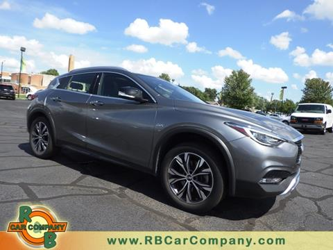 2017 Infiniti QX30 for sale at R & B Car Company in South Bend IN