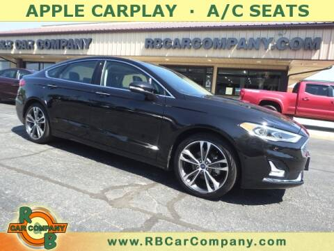 2019 Ford Fusion for sale at R & B Car Company in South Bend IN