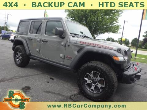 2018 Jeep Wrangler Unlimited for sale at R & B Car Company in South Bend IN