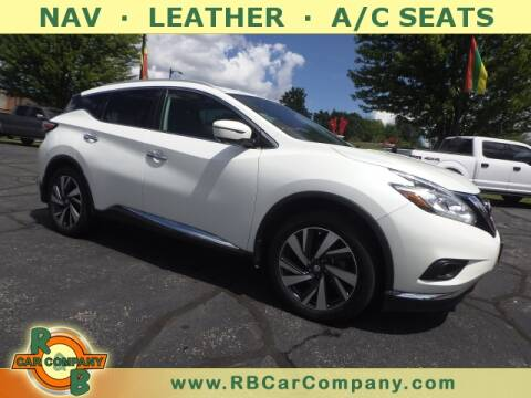 2016 Nissan Murano for sale at R & B Car Company in South Bend IN