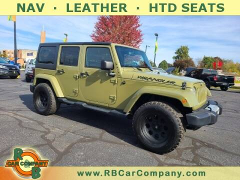 2013 Jeep Wrangler Unlimited for sale at R & B Car Company in South Bend IN