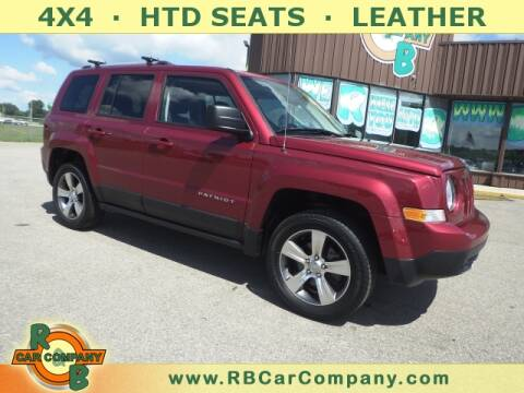 2017 Jeep Patriot for sale at R & B Car Company in South Bend IN