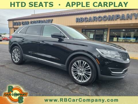 2016 Lincoln MKX for sale at R & B Car Company in South Bend IN