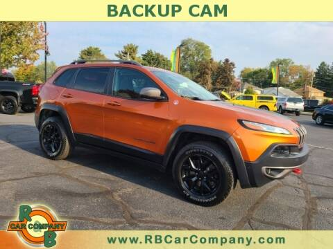 2015 Jeep Cherokee for sale at R & B Car Company in South Bend IN