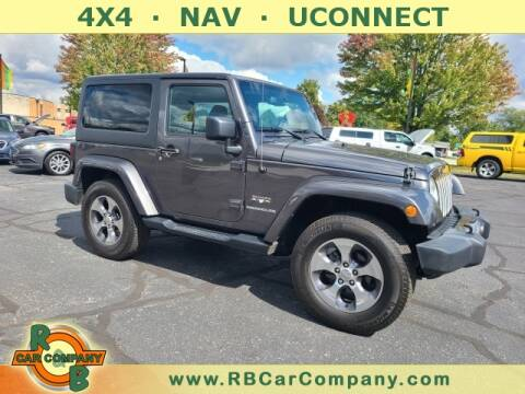2016 Jeep Wrangler for sale at R & B Car Company in South Bend IN