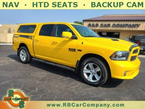 2016 RAM Ram Pickup 1500 for sale at R & B Car Company in South Bend IN